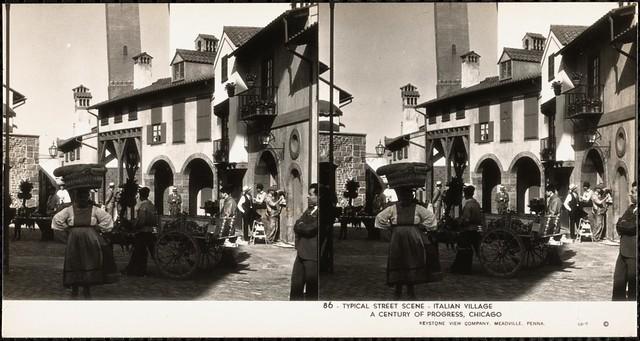 Typical street scene, Italian village