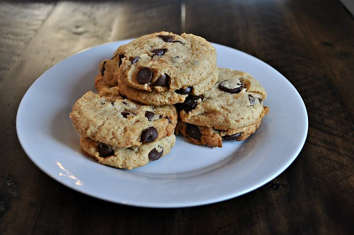 Classic Paleo Chocolate Chip Cookies   by FreckledFoodie