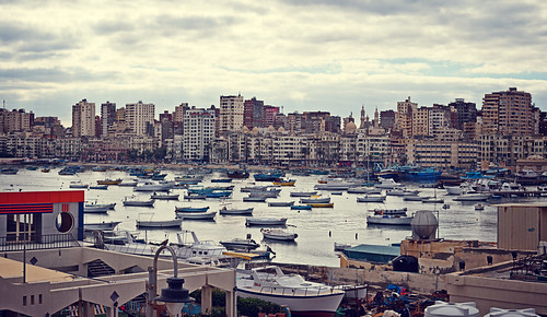 The Mediterranean Seashore, Alexandria, Egypt | by CamelKW