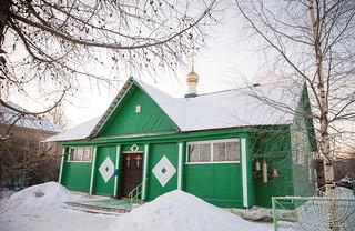 Литургия в в селе Рогавка 700