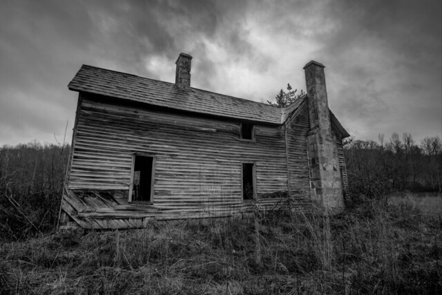 Abandoned house, White County, Tennessee