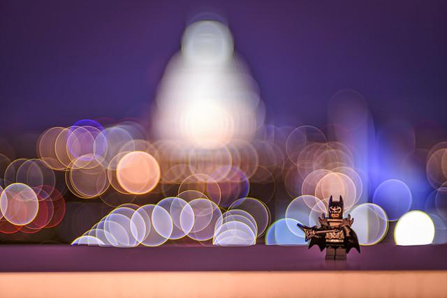LEGO Batman Takes Capitol Hill
