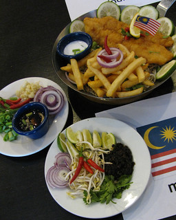 Malaysian-inspired fish and chips | by karlaredor