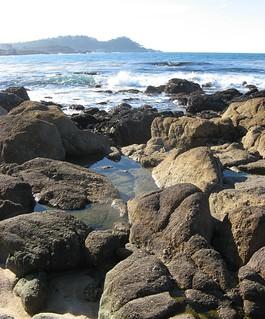 middle beach and Pt. Lobos