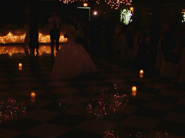 Father and Daughter dance at Quinceanera