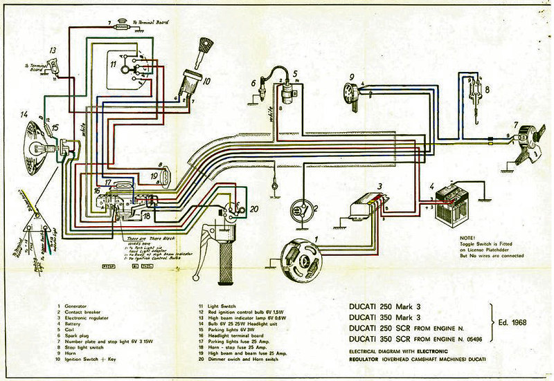 350 plug wire diagram ducati 350 bevel single wiring diagram very important  not    flickr 350 tbi plug wire diagram ducati 350 bevel single wiring diagram