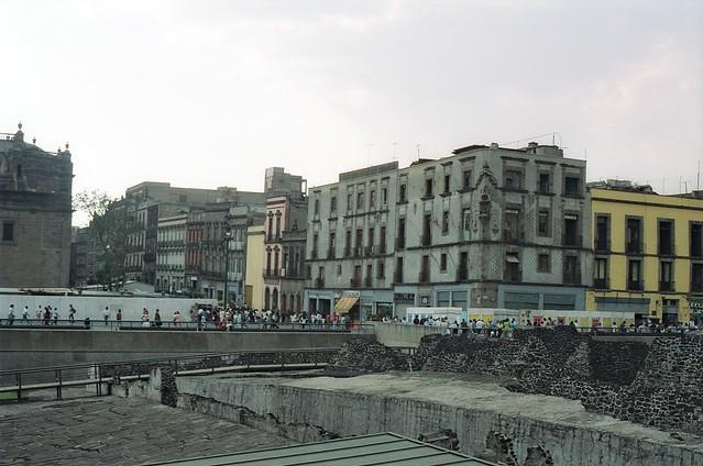 //133/1c/134/1.f - Ruinas del Templo Mayor en Mexico D.F. 1993