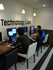 Concentration space in Media Technology Labs | by kawanet