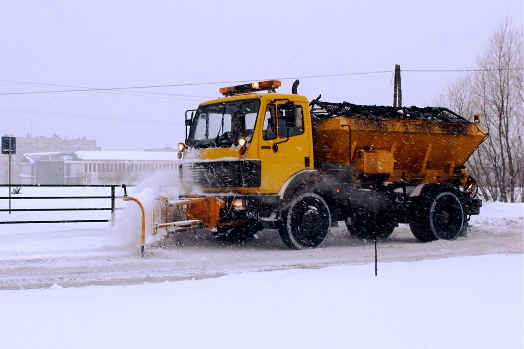 Pług śnieżny / Snowplow