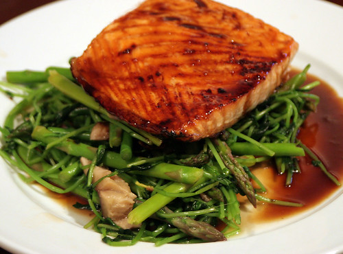 Salmon with Two Sauces | by Maggie Hoffman