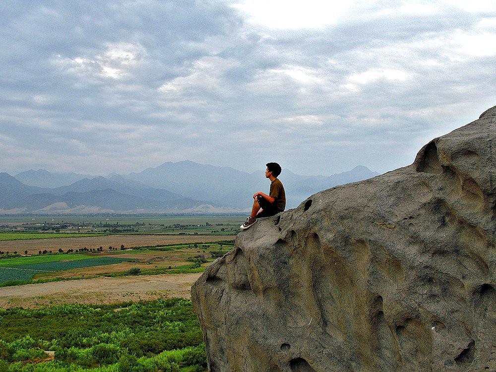 Vista del Valle de Moche, La Libertad