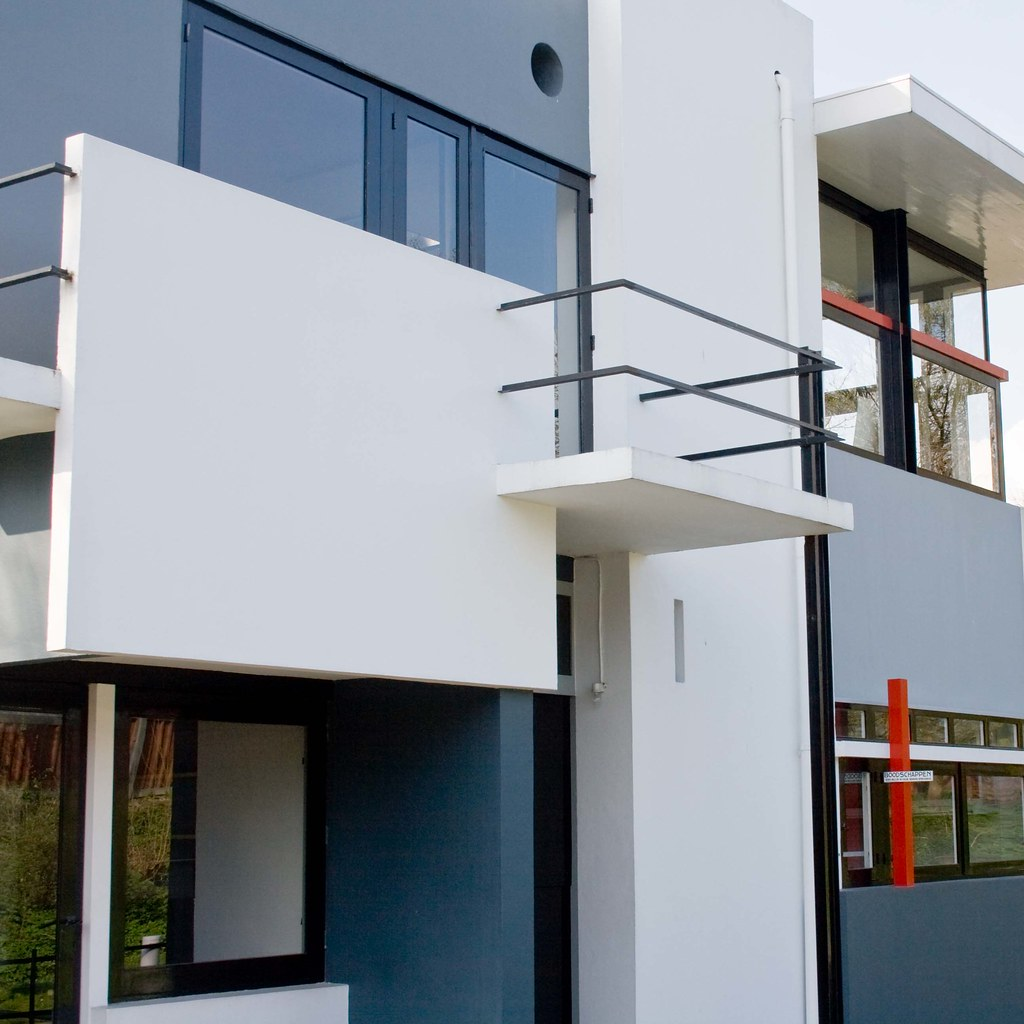 Schröderhouse by Gerrit Rietveld