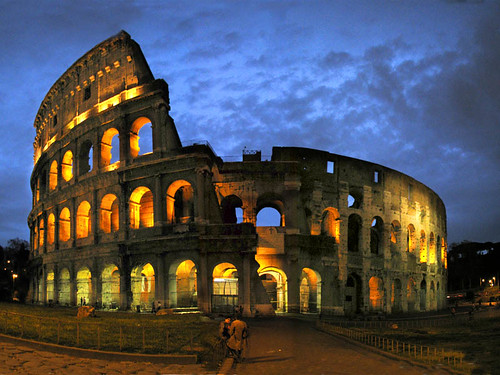Darkness Falls in Rome | by Storm Crypt
