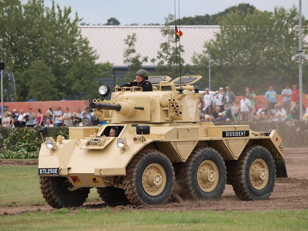 Saladin Armoured Car   E3287244   Megashorts   Flickr