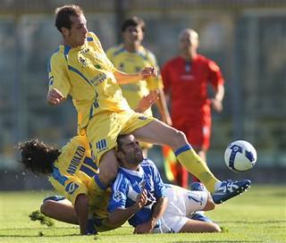 Brescia-Frosinone Calcio Serie B 2008-2009   Brescia's ...