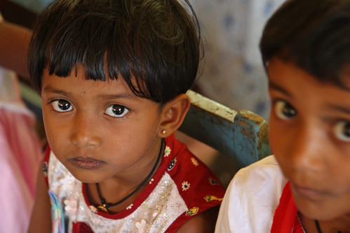 Little girls waiting to see dentist - Sri Lanka | by World Bank Photo Collection