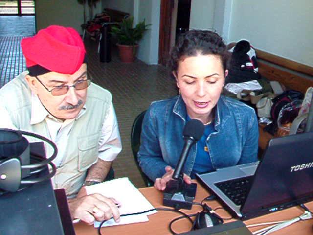 VÍDEO de l'estació EG3TDB, activant El Bruc (Anoia)