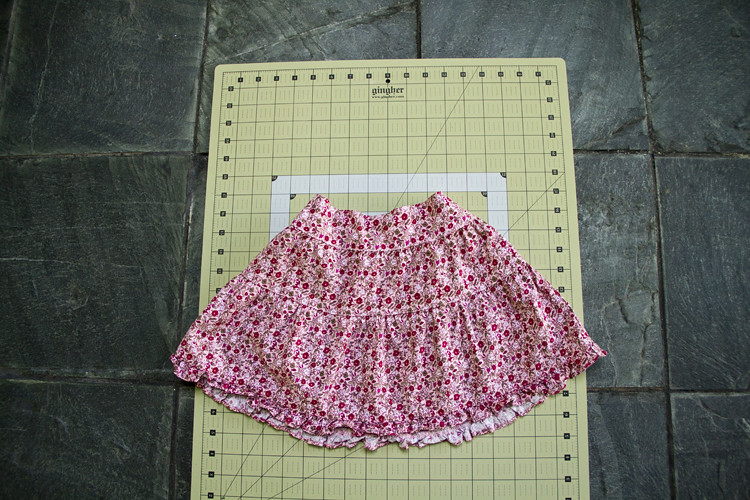 Tiered Skirt After