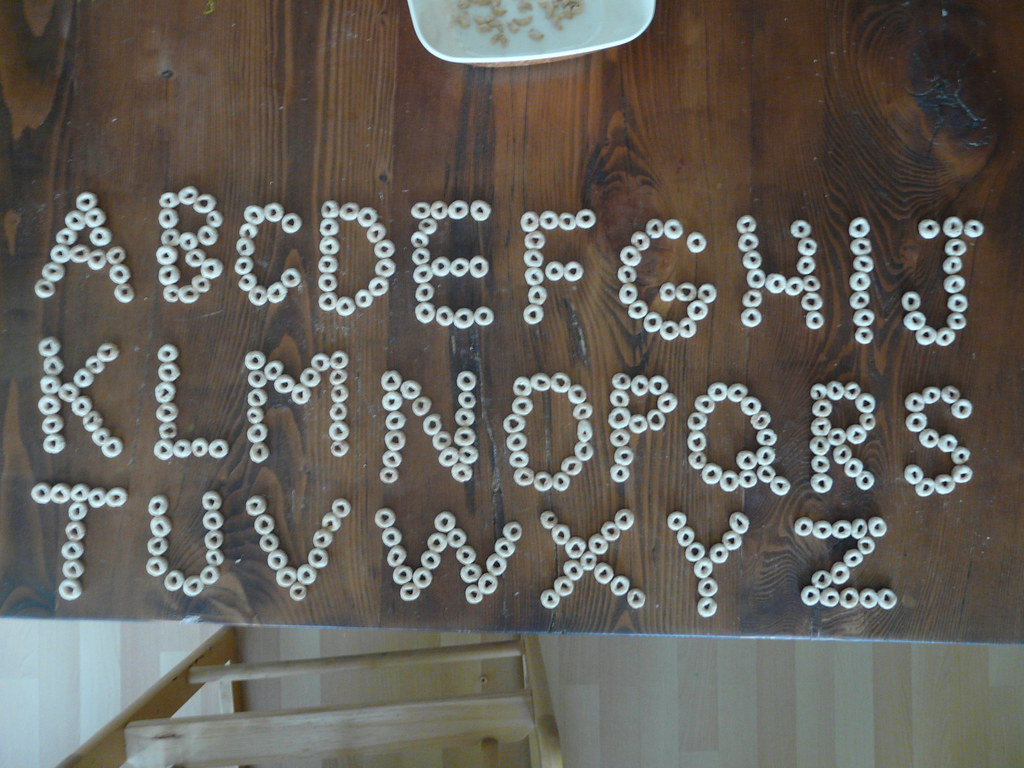 Cheerio Alphabet