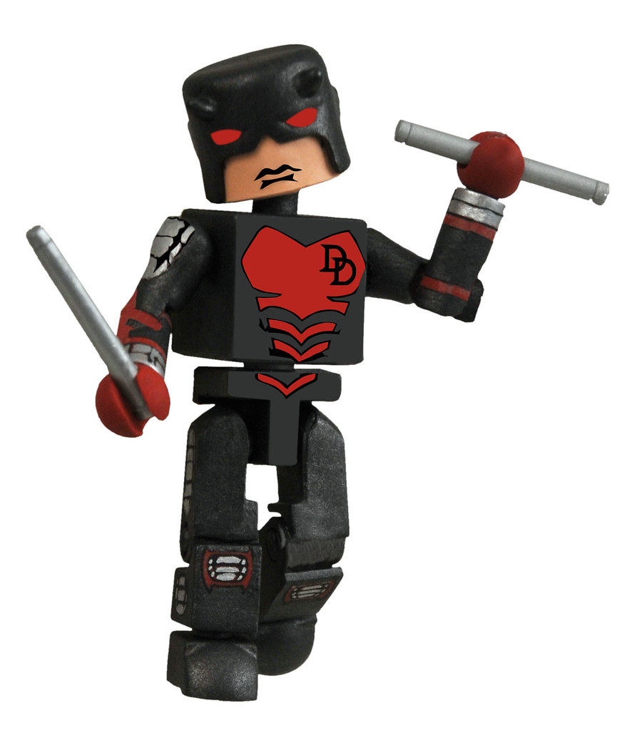 Marvel Minimates Series 29 Armored Daredevil