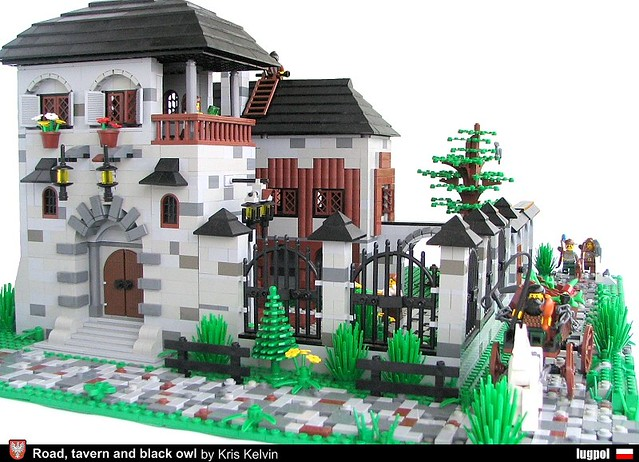 Road, tavern and black owl 2