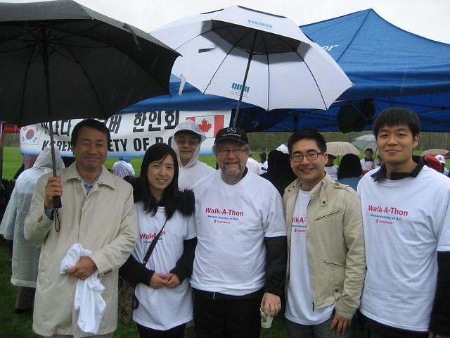 Korean Society of BC hosts Walkathon for Japan Relief