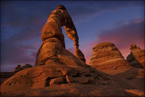 sunset usa southwest utah nationalpark desert moab redrock archesnationalpark delicatearch desertsunset delicatearchhike delicatearchtrailhead