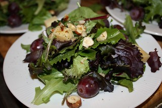Grape, Parrano, and Hazelnut Salad | by chefelf