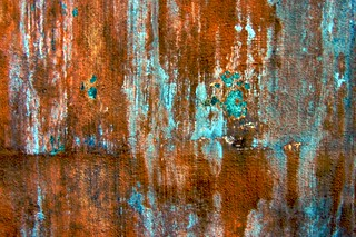rust and turquoise texture for layer | by Abby Lanes