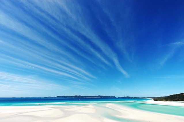 Whitehaven Beach | ---> Have a look at my best flickr photos