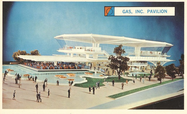 The Festival of Gas Pavilion - New York World's Fair 1964-65