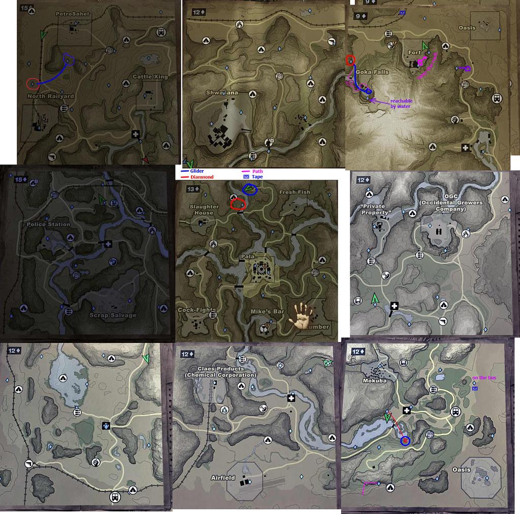 Diamond Locations Far Cry 2 Gliders North Www Farcry2 Flickr