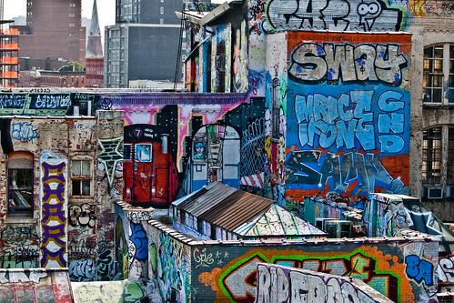Old School Graffiti | by eviltomthai