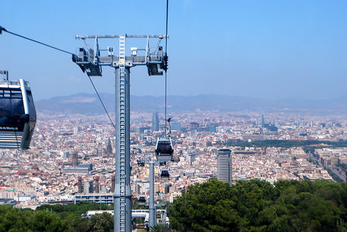 Montjuic Cable Car | by SteveR-