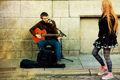 Busker in Ignoreland | by tochis