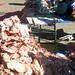 Bolivia - Sucre - Tarabuco Market - Fat