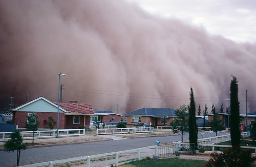 Dust Storm 1968 Dust Storm In South Australia Home Just