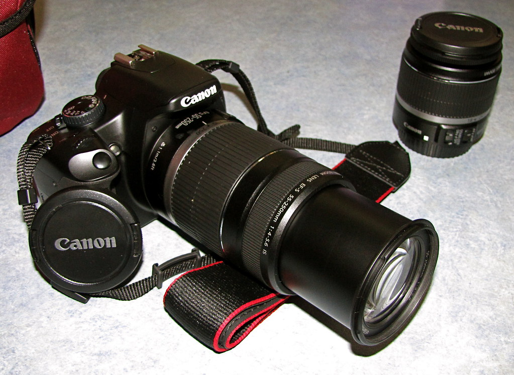 Canon 450D with 55-250mm Lens | Been wanting to take some pi