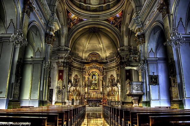 Basilica Lidón interior