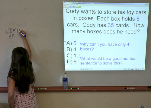 Grade 3 math question on toy car boxes | by simpson391