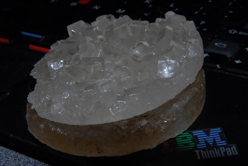 Syrup crystals