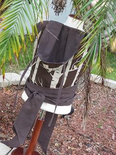 Lara Cameron Birch on hand-dyed straps