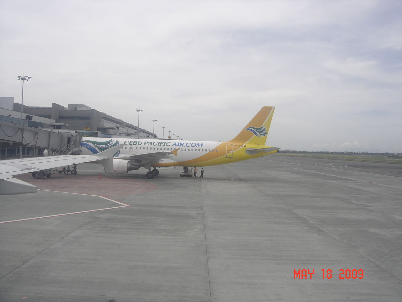 Cebu Pacific Air Airbus A320  Ninoy Aquino International
