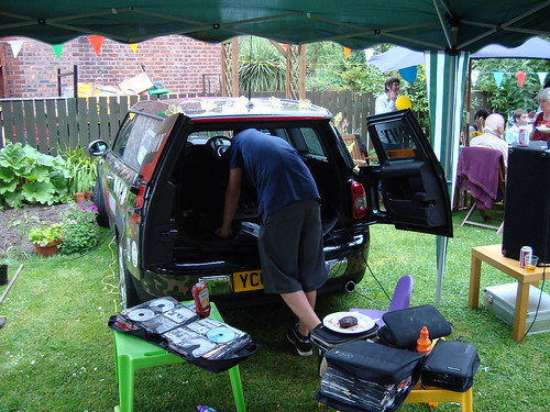 Clint Boon's new Mini - DJ booth at the back | by s10wen
