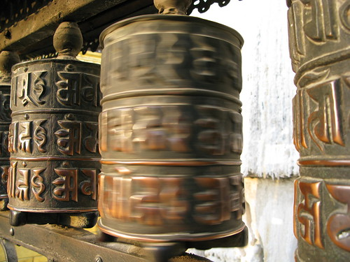 spinning prayer wheel | by clurross