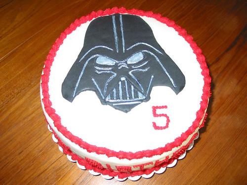 Darth Vader Cake Darth Vader Cake Covered In Buttercream