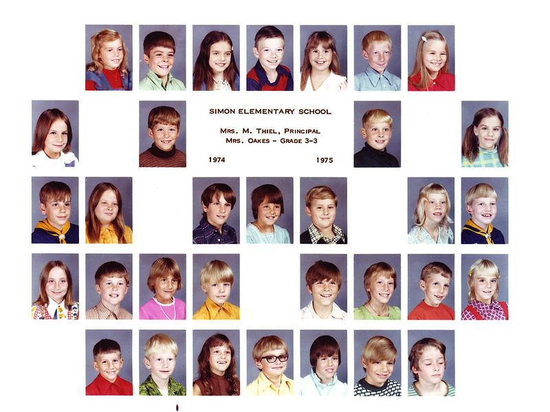 3rd Grade 1975