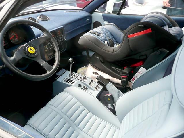 Ferrari 288 Gto Interior The Babyseat Suggests That This I Flickr