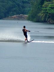 Water skiing on Bentota River | by Hafiz Issadeen