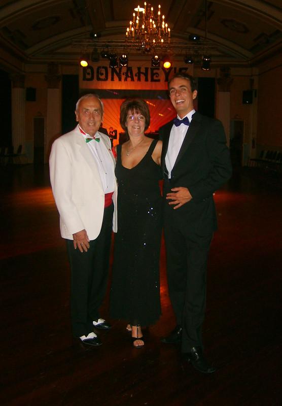 Patrick, Shirley & Paul Donahey